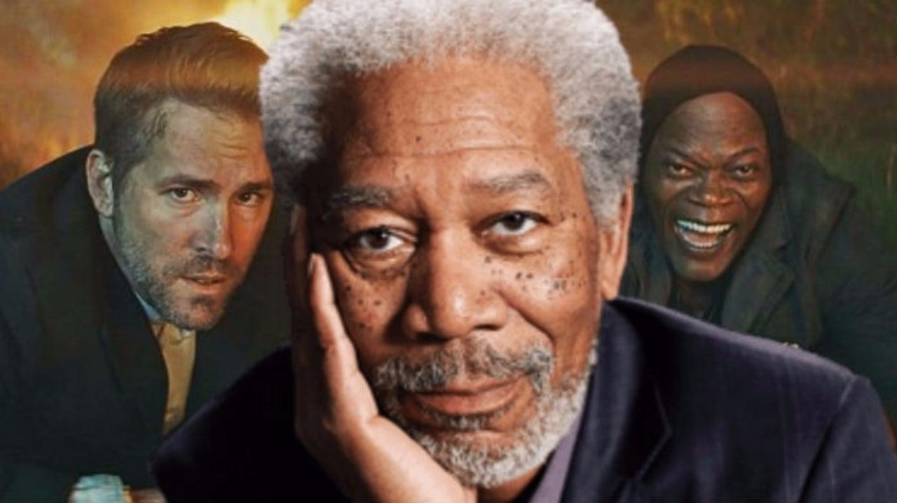 Morgan Freeman Cast in 'The Hitman's Bodyguard' Sequel With Ryan Reynolds and Samuel L. Jackson
