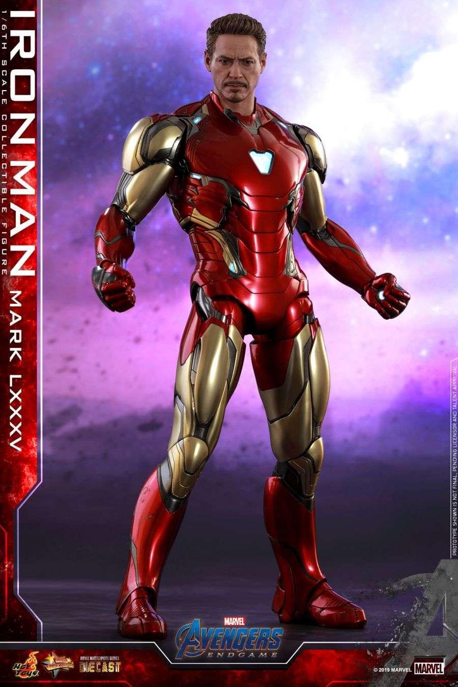 Hot Toys - Avengers 4 - Iron Man Mark LXXXV collectible figure_PR1