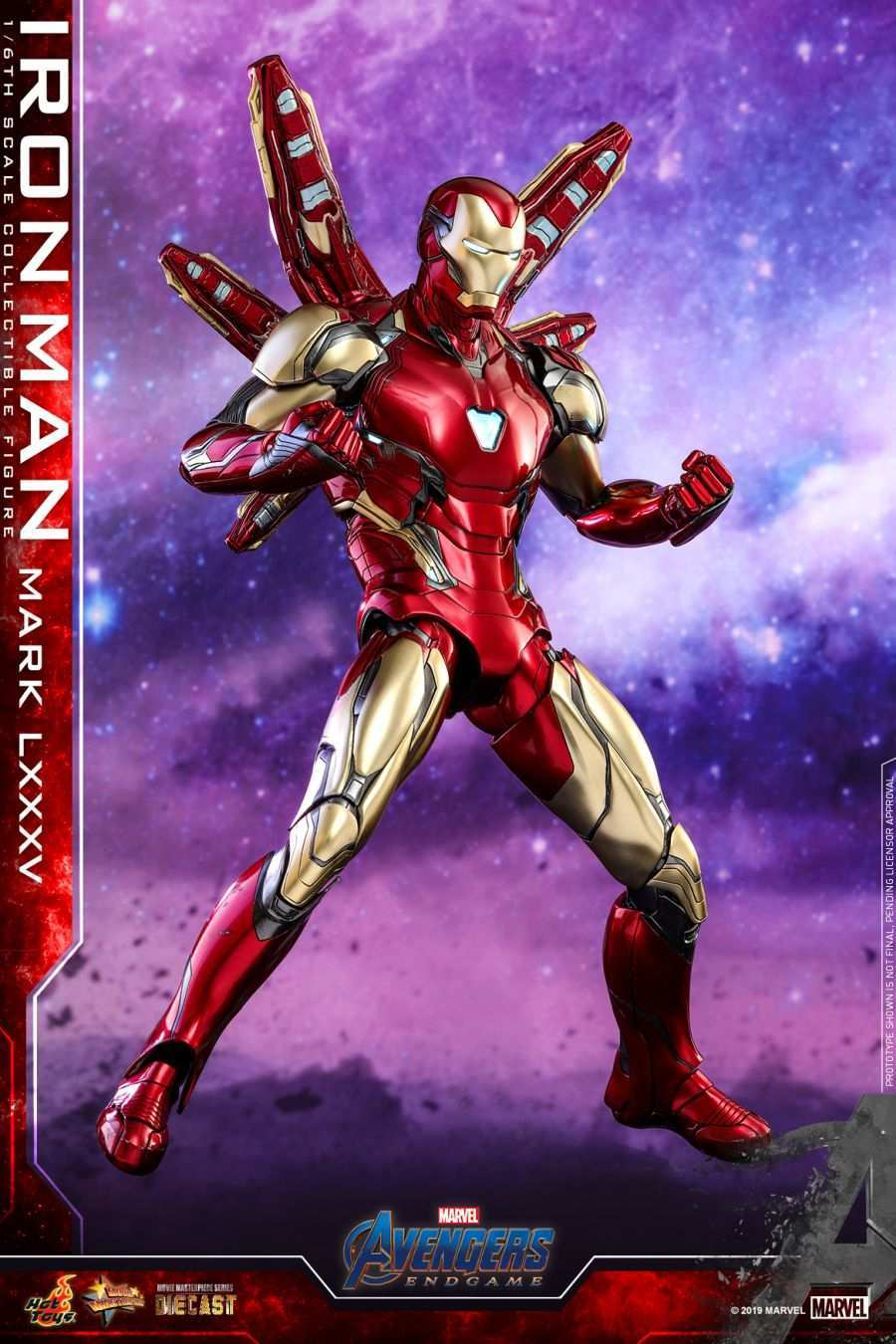 Iron man mark lxxxv armor for 39 avengers endgame 39 detailed look revealed by hot toys - Image de iron man ...