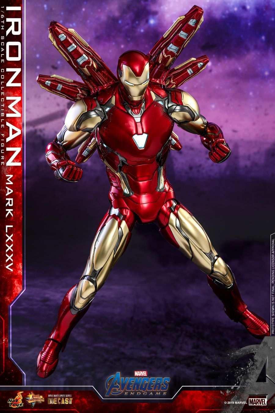 Hot Toys - Avengers 4 - Iron Man Mark LXXXV collectible figure_PR11