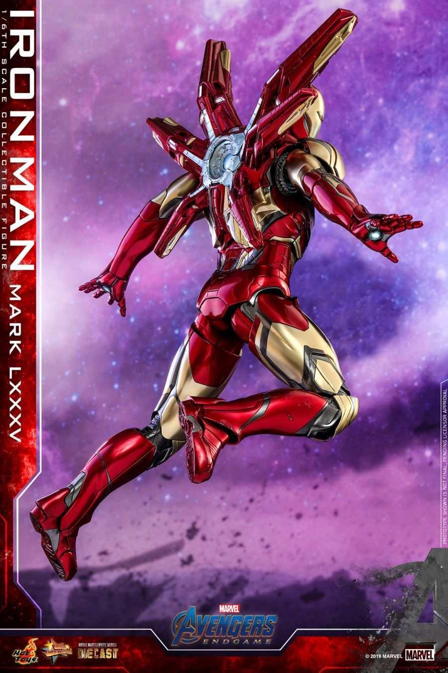 Hot Toys - Avengers 4 - Iron Man Mark LXXXV collectible figure_PR12