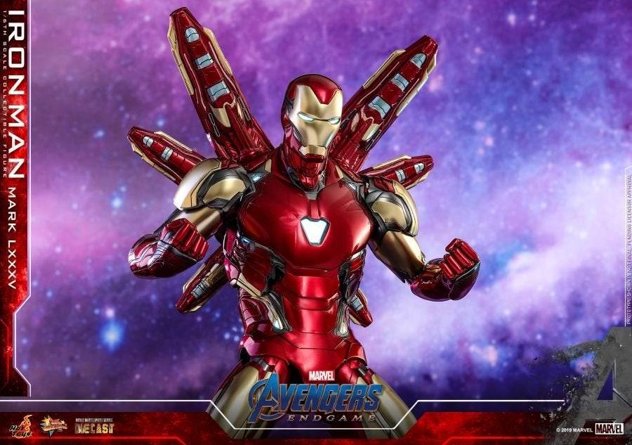 Hot Toys - Avengers 4 - Iron Man Mark LXXXV collectible figure_PR14