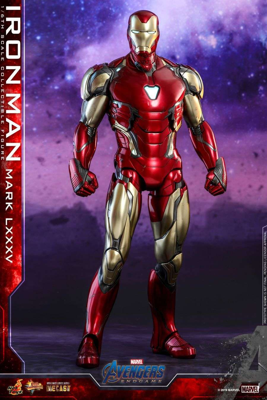 Hot Toys - Avengers 4 - Iron Man Mark LXXXV collectible figure_PR2