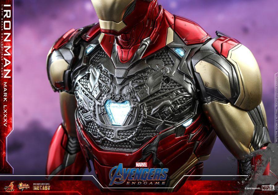 Hot Toys - Avengers 4 - Iron Man Mark LXXXV collectible figure_PR20