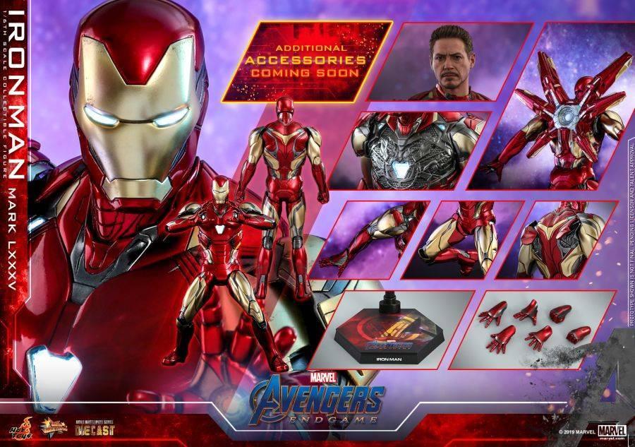 Hot Toys - Avengers 4 - Iron Man Mark LXXXV collectible figure_PR21