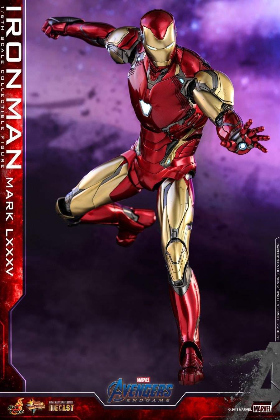 Hot Toys - Avengers 4 - Iron Man Mark LXXXV collectible figure_PR3