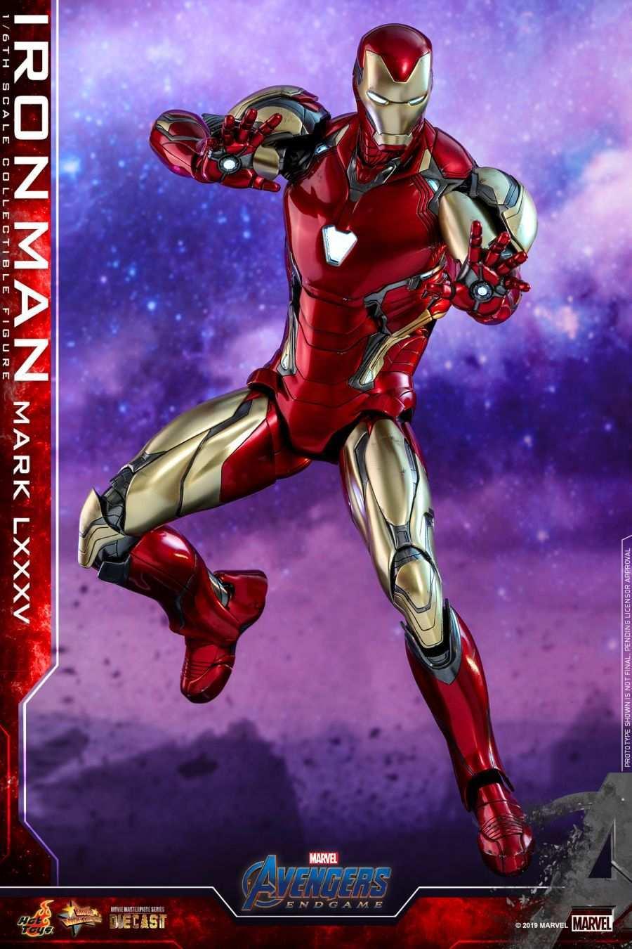 Hot Toys - Avengers 4 - Iron Man Mark LXXXV collectible figure_PR4