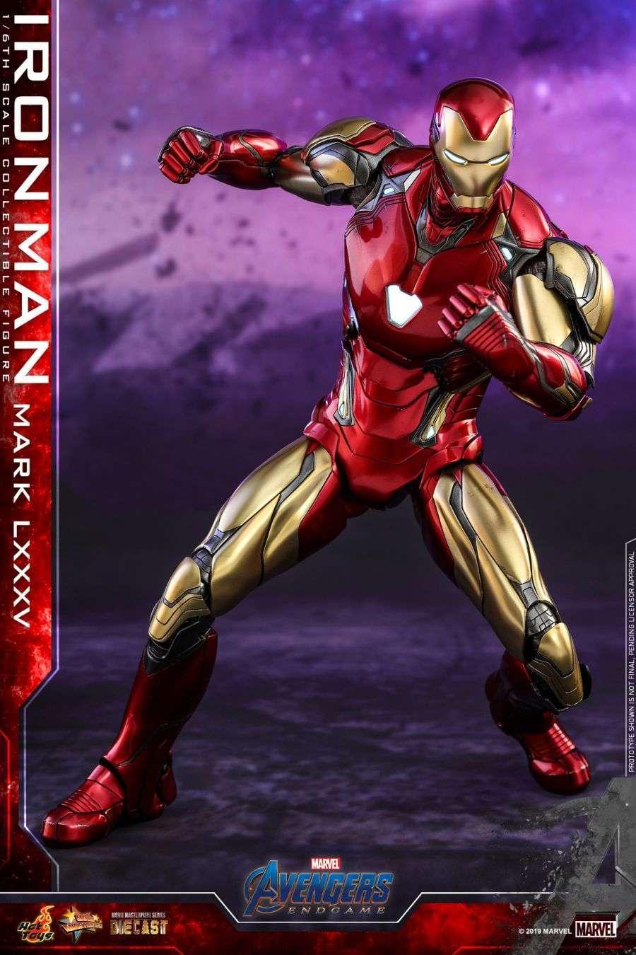 Hot Toys - Avengers 4 - Iron Man Mark LXXXV collectible figure_PR5