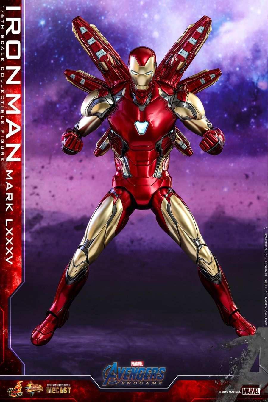 Hot Toys - Avengers 4 - Iron Man Mark LXXXV collectible figure_PR7