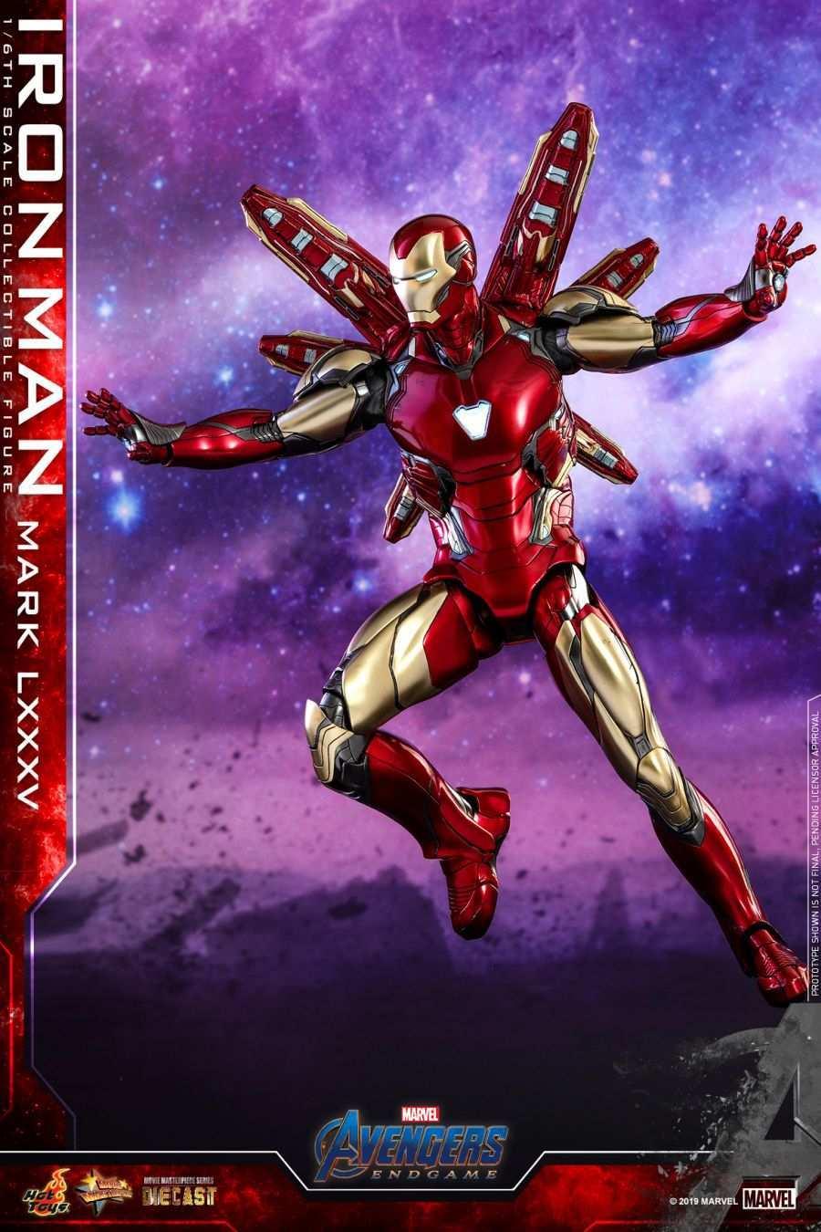 Hot Toys - Avengers 4 - Iron Man Mark LXXXV collectible figure_PR8