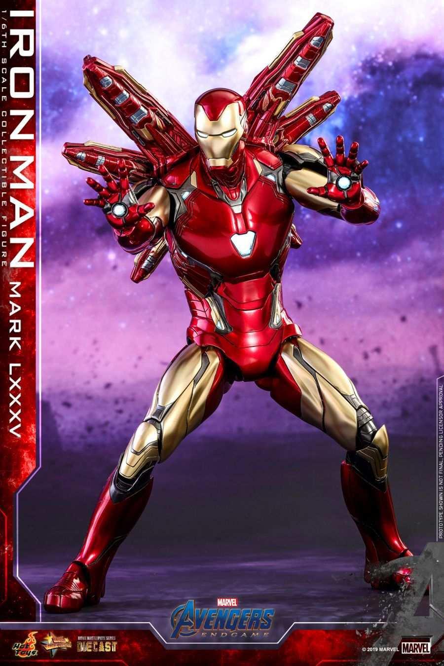 Hot Toys - Avengers 4 - Iron Man Mark LXXXV collectible figure_PR9