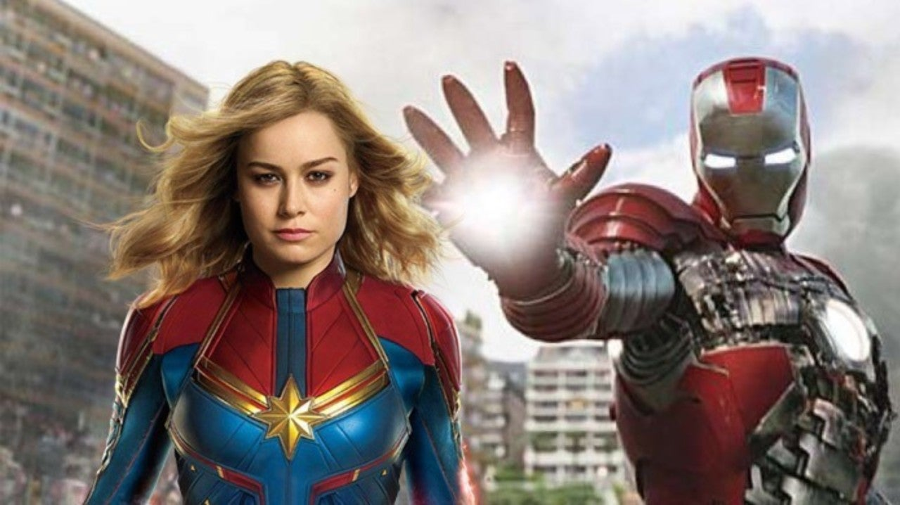 'Captain Marvel' And 'Iron Man 2' Connection Revealed