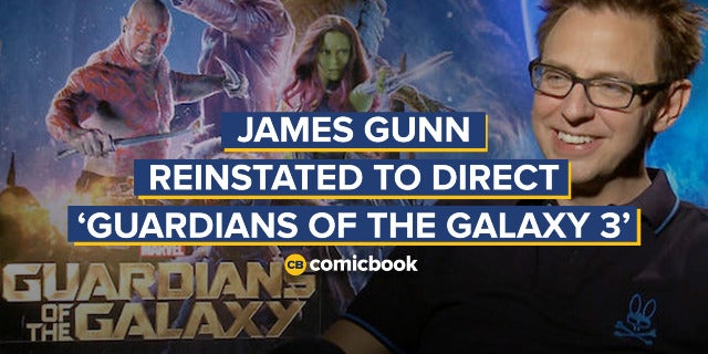 James Gunn Reinstated to Direct 'Guardians of the Galaxy Vol. 3' screen capture