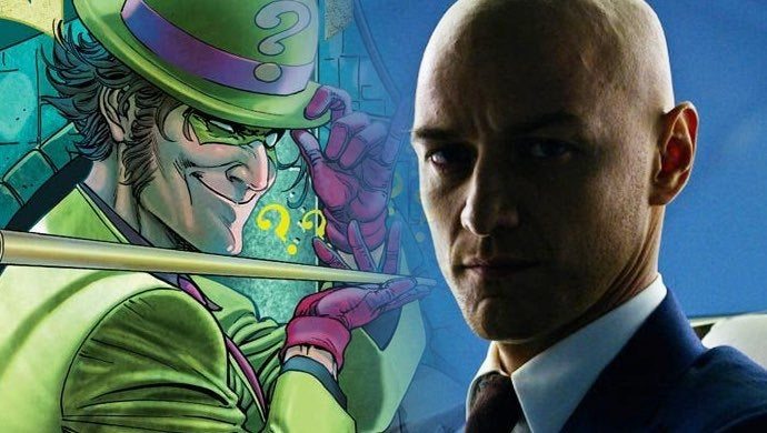 james mcavoy riddler
