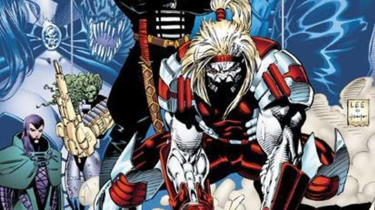 Jim Lee Shares New Omega Red Sketch