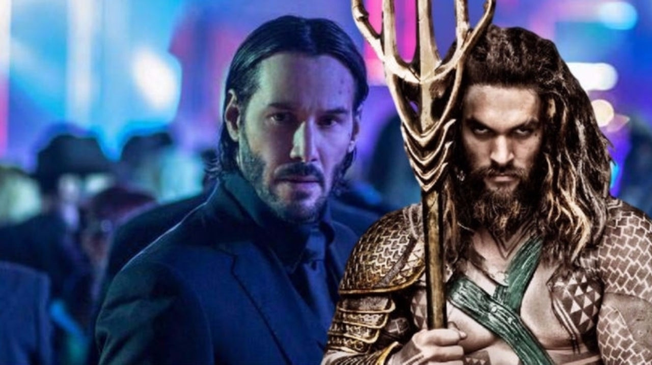 Aquaman & John Wick Desert Joke Delights Fans After New Trailer