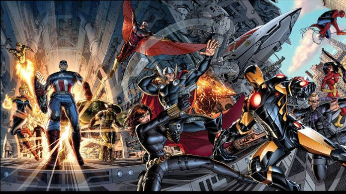 Jonathan Hickman Marvel Avengers