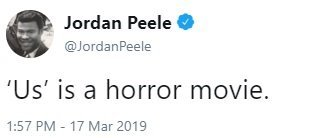 jordan peel us horror movie comments
