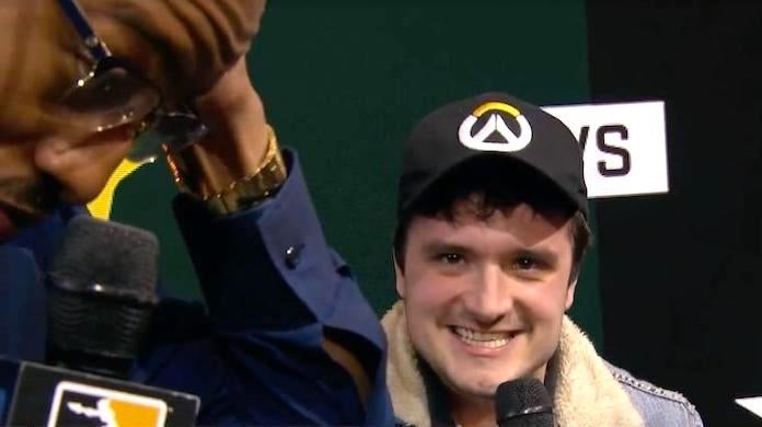 'Hunger Games' Josh Hutcherson Dunks On 'Overwatch' Console Players