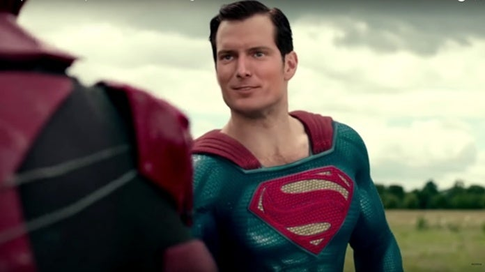 justice league flash superman race christopher reeve