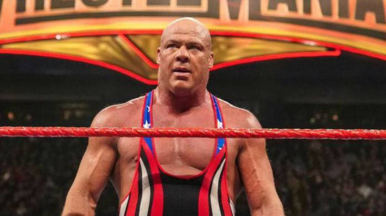 Kurt Angle Gives His Mount Rushmore for Pro Wrestling