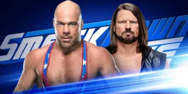 Kurt-Angle-AJ-Styles-SmackDown-Live