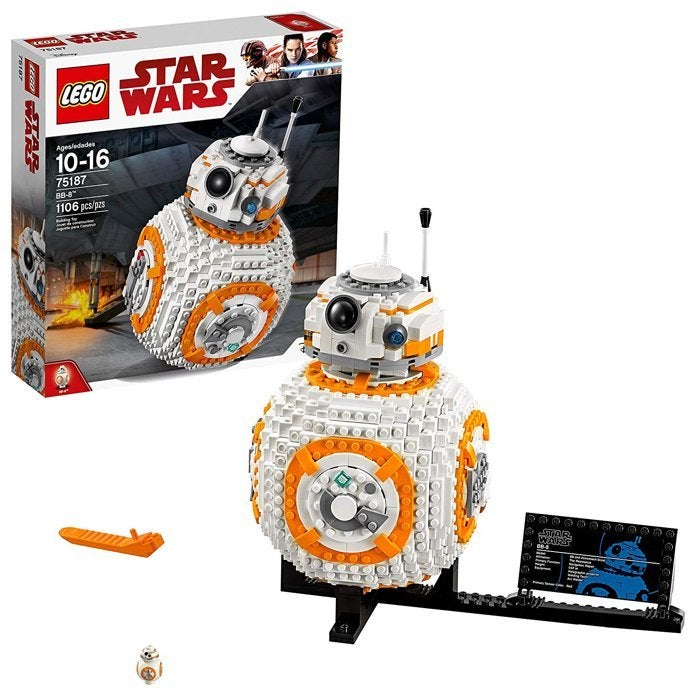 Save 42% on the 1106-Piece 'Star Wars' BB-8 LEGO Set