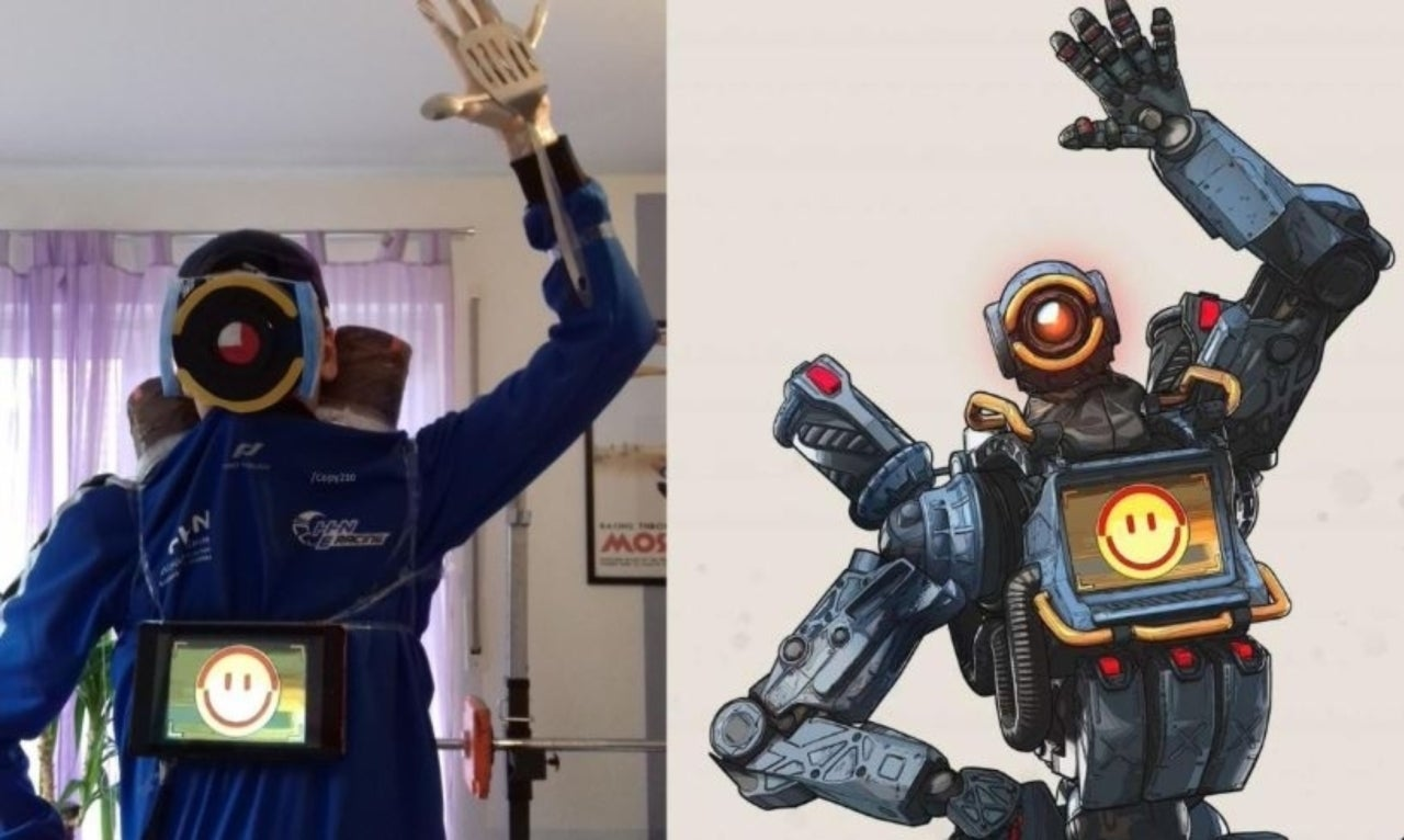 Apex Legends Pathfinder And Gilbraltar Get The Hilarious Low