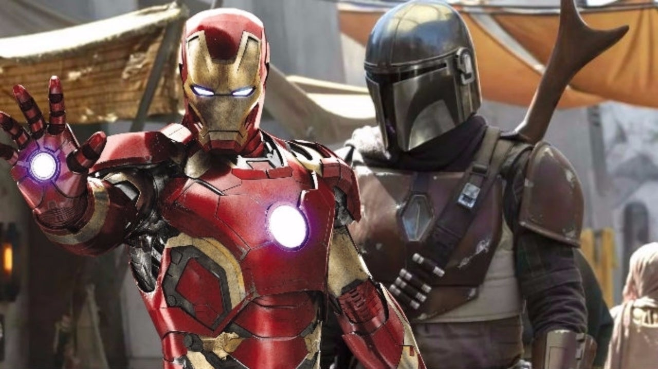 Star Wars: Jon Favreau Reveals Iron Man-Themed Helmet Behind-the-Scenes of 'The Mandalorian'