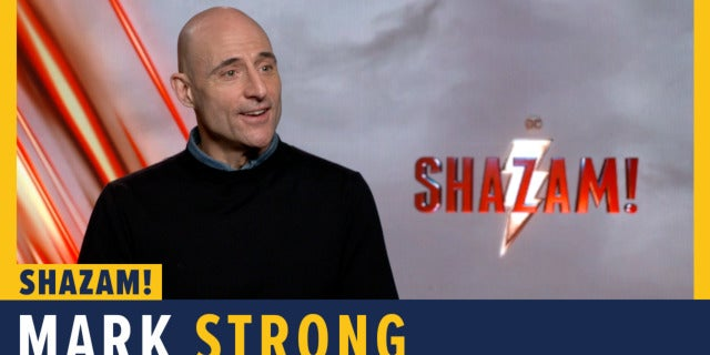 Mark Strong Talks 'Shazam!' screen capture