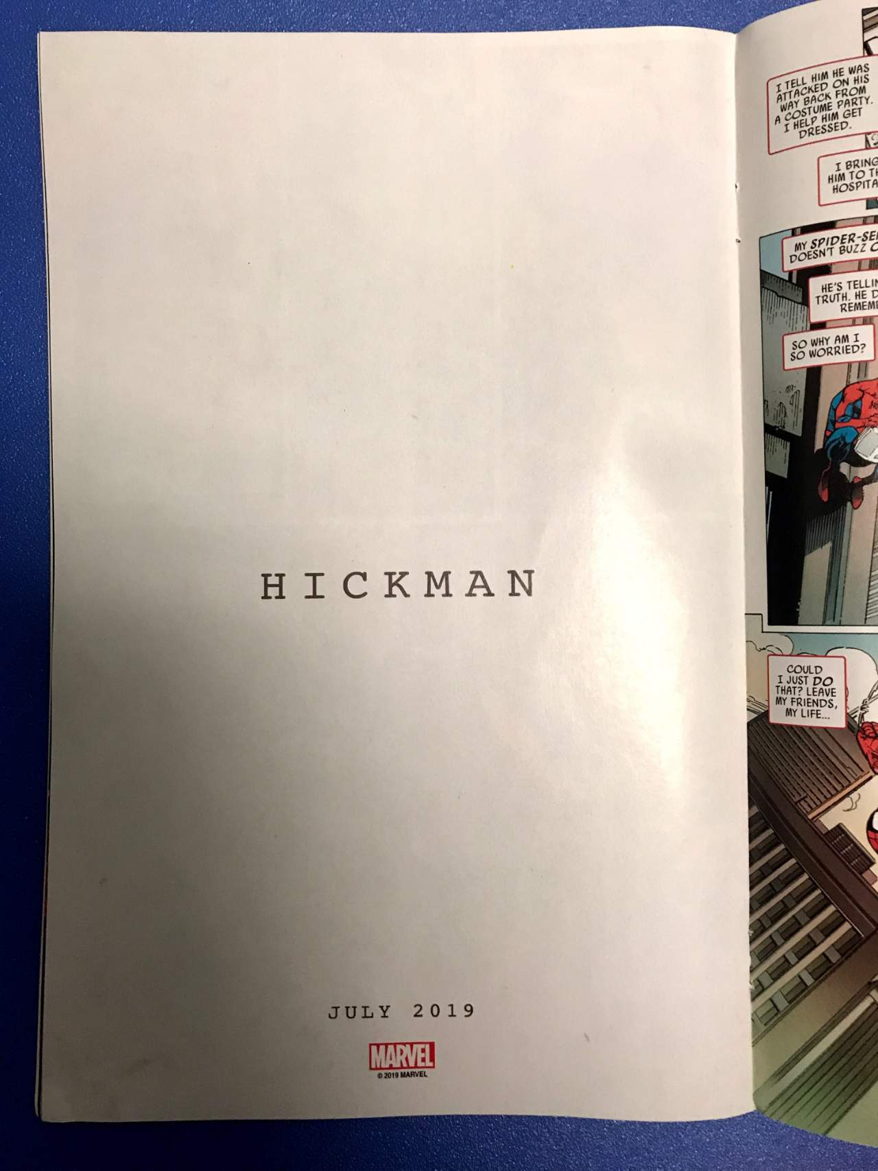 Marvel Hickman Ad