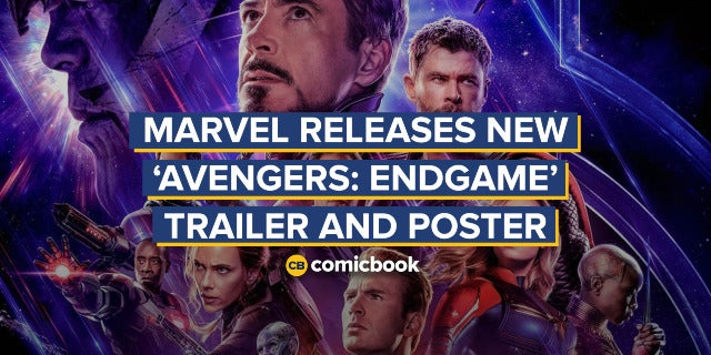 Marvel Releases NEW 'Avengers: Endgame' Trailer and Poster screen capture