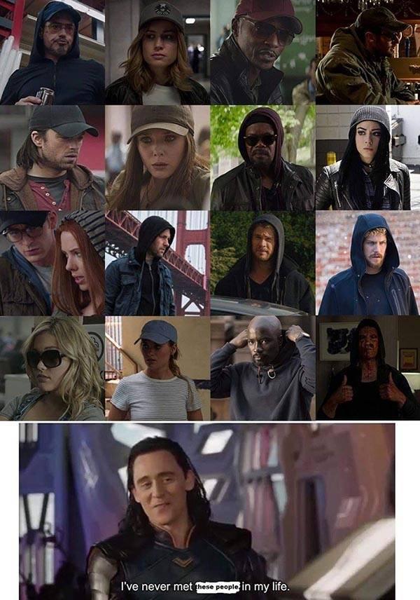 mcu hat hoodie disguise