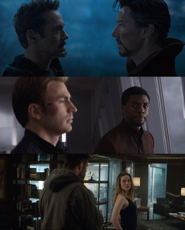 mcu trinity passing torch