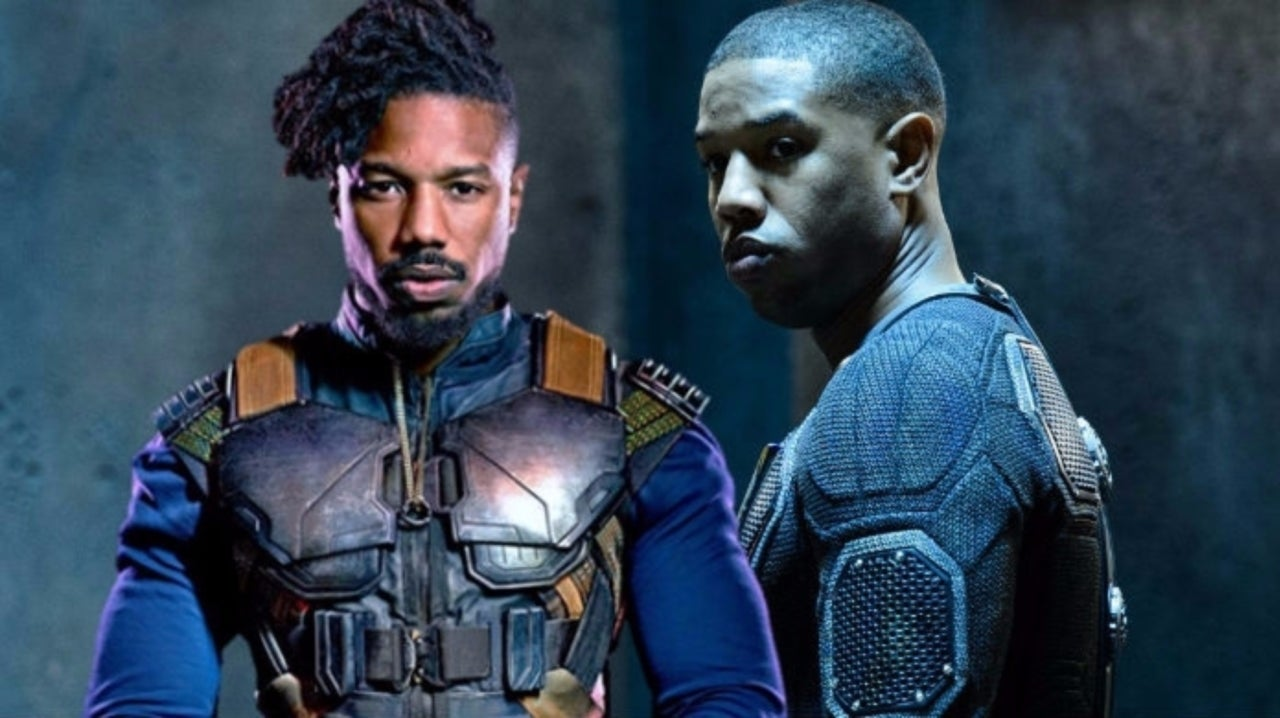 Michael B. Jordan's Marvel Characters Get Mashed Up to Celebrate Disney Deal