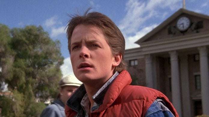 Michael J Fox Back to the Future