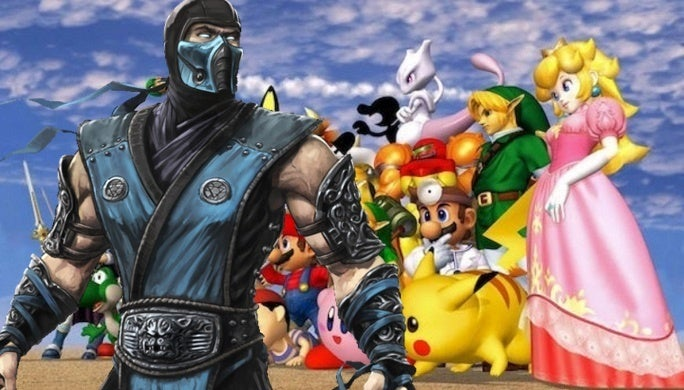 Mortal Kombat Super Smash