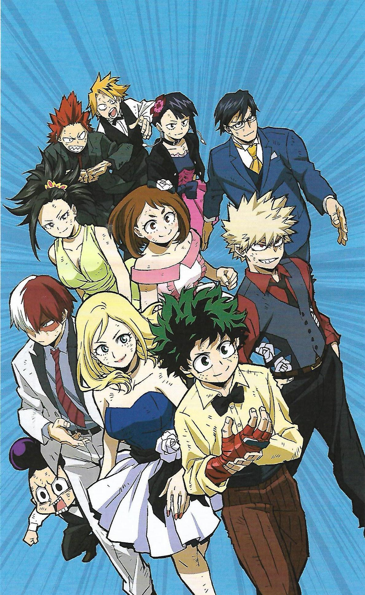 My Hero Academia Two Heroes Reveals Slick New Poster