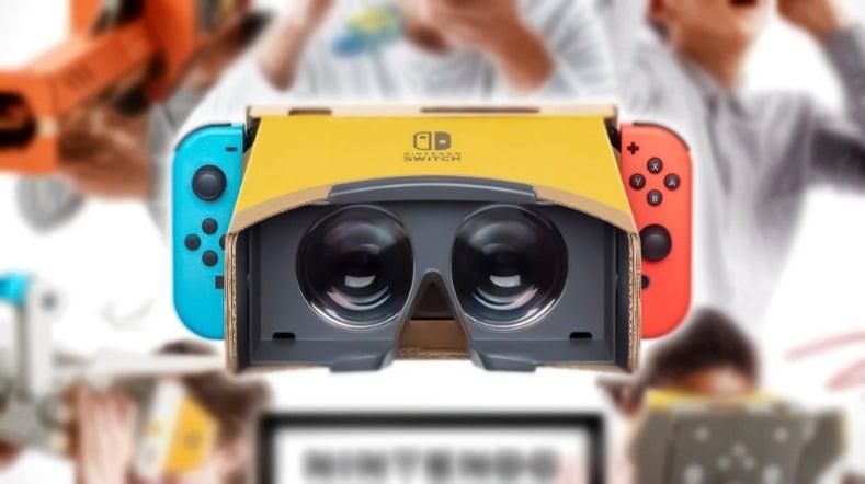 Nintendo Labo VR Switch