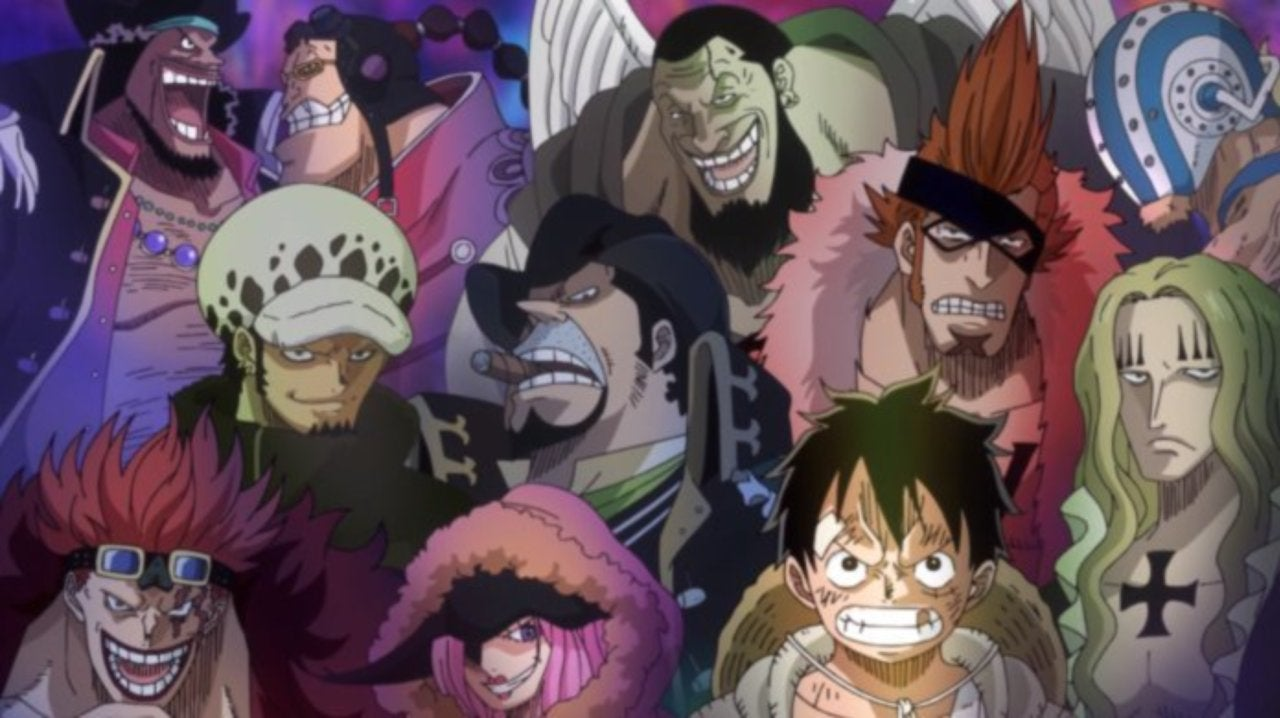 One Piece Creator Reveals All of the Supernova Pirate Ships