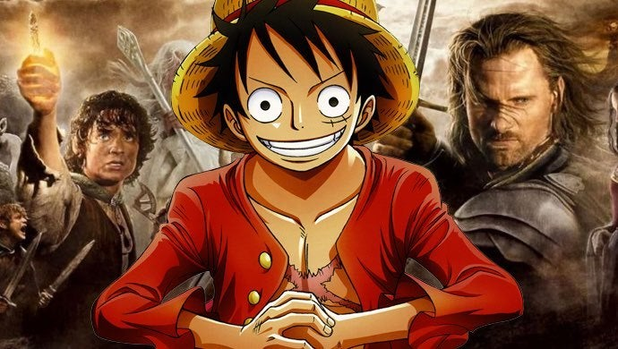 one piece lord of the rings