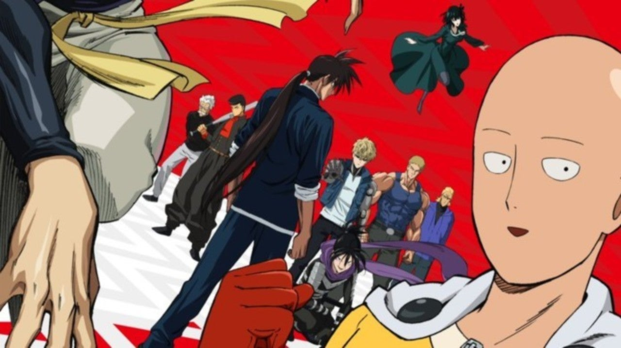 [Top 10] - Animes Que Vão Bombar na Line-Up Primavera 2019 One-punch-man-season-2-poster-1161374-1280x0