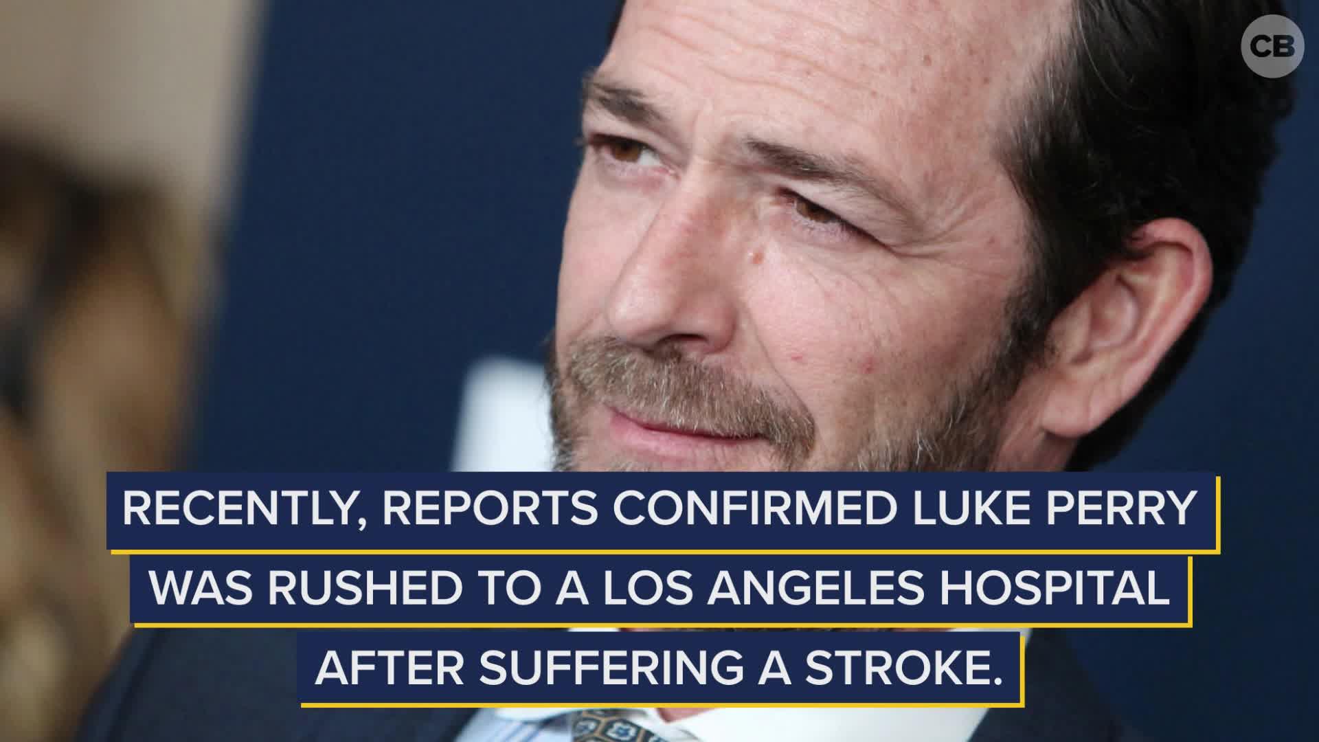 Riverdale's Luke Perry Suffers Stroke screen capture