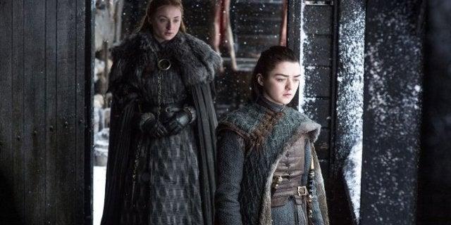 Sansa Stark Arya Stark