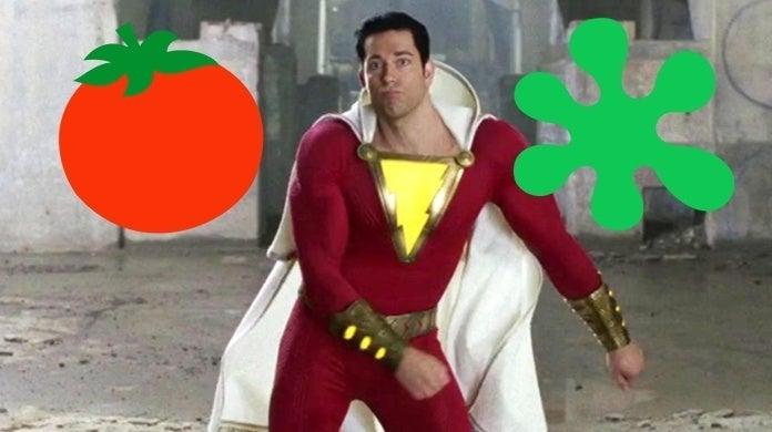 shazam rotten tomatoes score