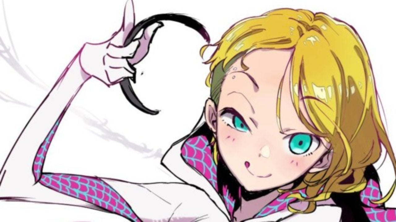 'My Teen Romantic Comedy SNAFU' Artist Gives Spider-Gwen an Anime Makeover