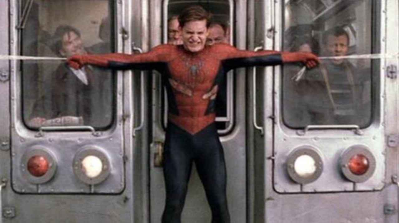 Science Determines If Spider-Man Can Really Stop a Train