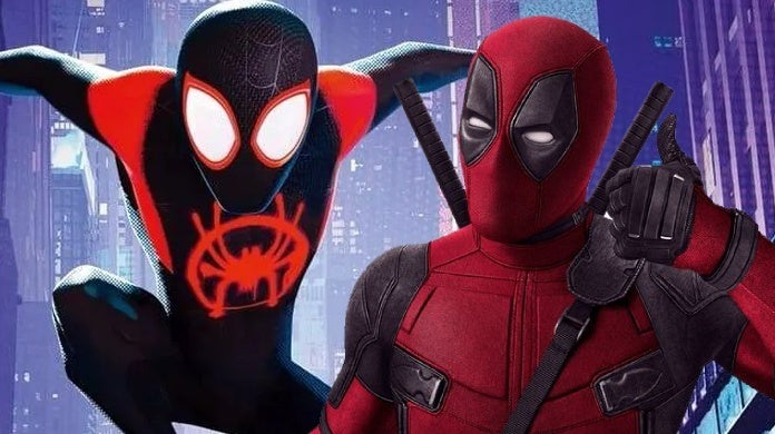 spider man into the spider verse deadpool