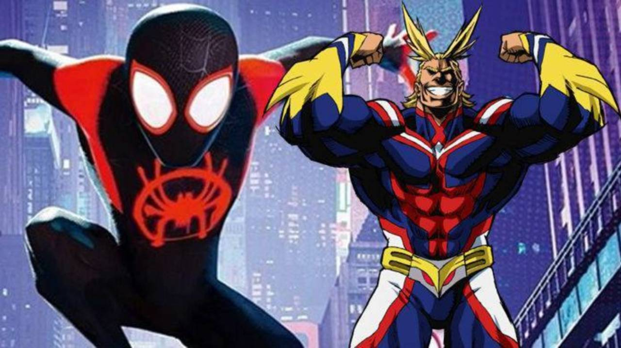 Fan Artist Imagines All Might as Spider-Man in 'My Hero