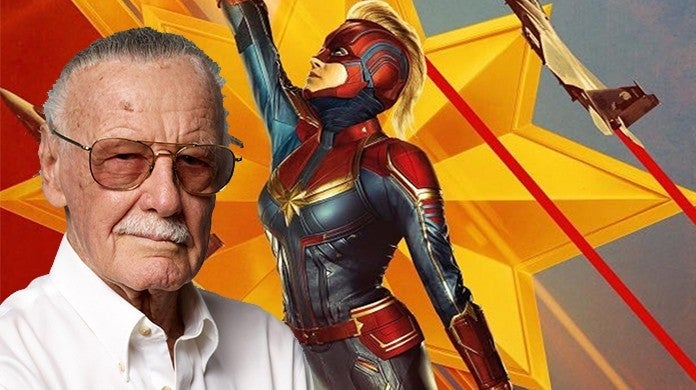 stan lee captain marvel tribute